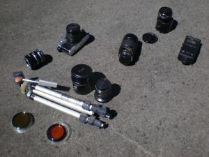 Minolta Camera SLR XG-7 System.