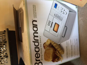Breadman - NEW in Box Pro Bread Makers