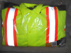 """NEW """"Work King""""  safety winter parka"""