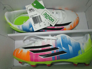 Kids sz 3 Adidas Soccer Cleats Messi F10 hard to find colour NEW