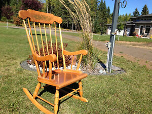 Classic Wood Rocking Chairs
