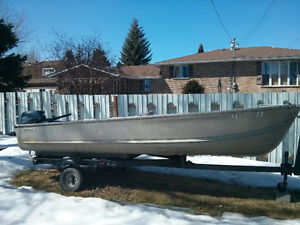 16ft boat with 20hp motor