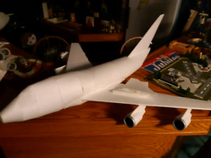 Foam planes. Incomplete.