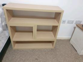 2 piece oak unit,