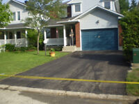 PEEL and PAVE your old driveway