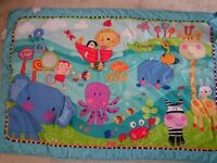 Playmat and toys