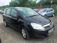 2008 08 Vauxhall/Opel Zafira 1.6 16v ( 105ps ) 2008MY Exclusiv Petrol 5 Speed