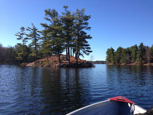 21 acre waterfront acreage; in Rideau Lakes, the new Muskokas