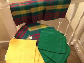 12 cotton napkins in total 7 brand new