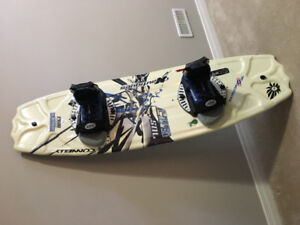 Wakeboard & Bindings for Sale