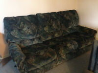 Used Blue Recliner Couch