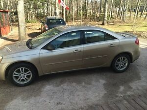 2006 Pontiac G6- looking for quick sale
