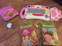 Leap Frog Click Start my first computer (pink)