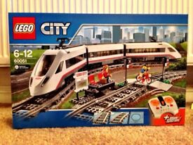 Lego City Passenger Train New