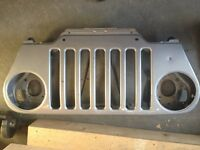 Jeep Wrangler TJ factory grill
