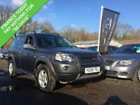 2005 55 LAND ROVER FREELANDER 2.0 TD4 ADVENTURER 4X4 110 BHP DIESEL