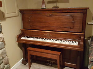 Upright Grand Piano from the early 1900's