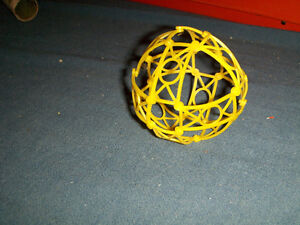 VINTAGE PLASTIC SPHERE-GIVEAWAY PROMOTION-1970'S-RARE!