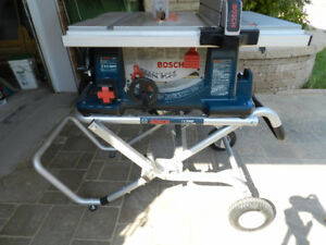Bosch 4100 10-Inch Worksite Table Saw with Gravity-Rise Stand