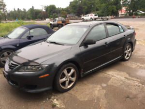 2005 MAZDA 6 PARTING OUT