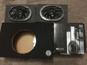 Truck Speakers MB Quart & Soundstream