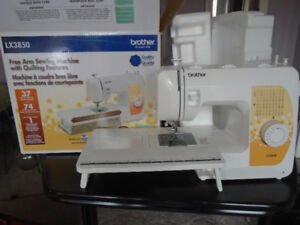 New Brother Sewing Machine.