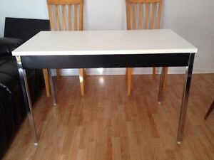 Stenlles steel and wood table London Ontario image 2