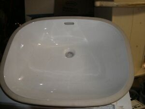New Undercounter bathroom sink