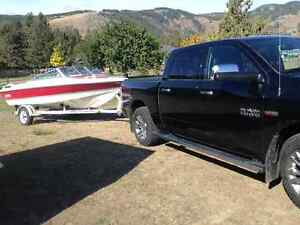 In great condition 19 half foot ski boat