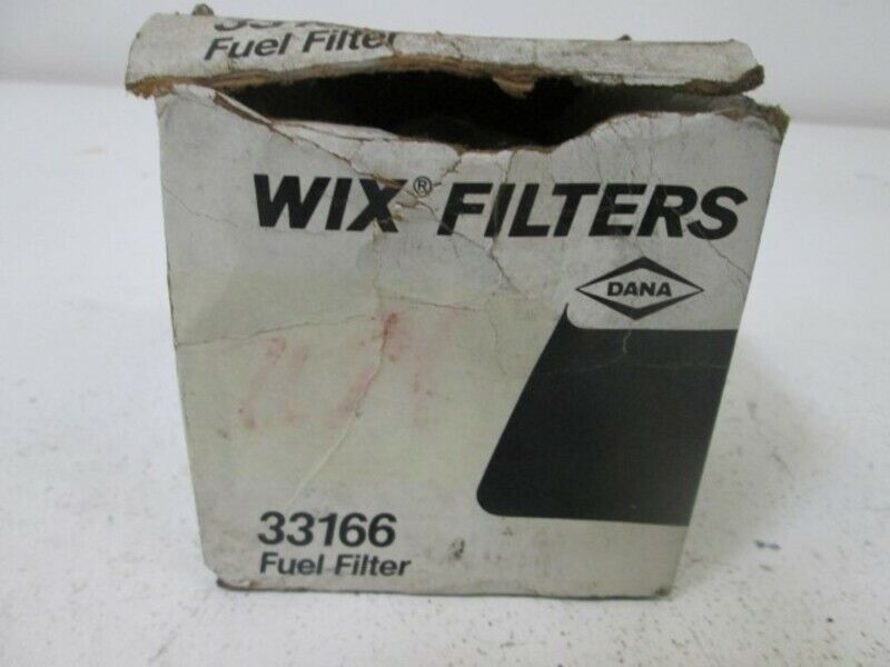 WIX 33166 FUEL FILTER * NEW IN BOX *