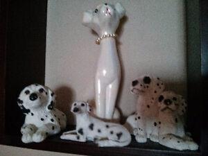 Set of dogs figurines Dalmatians Windsor Region Ontario image 1