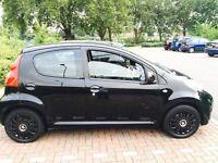 Peugot 107 black 1.0 petrol manual , excellent drive
