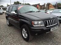 2004 JEEP GRAND CHEROKEE 2.7 CRD Sport 4X4 DIESEL AUTOMATIC VERY HIGH SPEC
