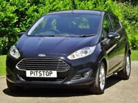 2014 Ford FIESTA 1.0 ZETEC Manual Hatchback