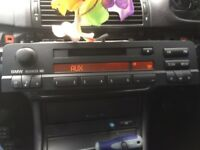 BMW E46 mini disc Business Radio Stereo Md Player Aux Model 3 Series Coupe Compact Saloon