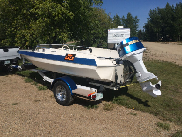 Used 1980 Thunder Jet Boats 16' Bubble Deck Speed Boat