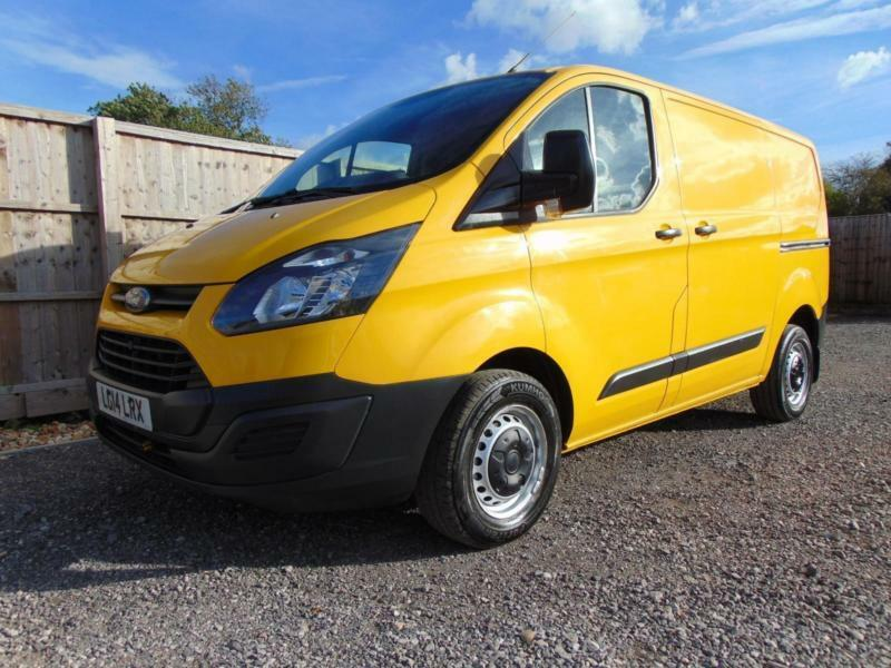 95c1795afc 2014 14 FORD TRANSIT CUSTOM 2.2TDCI 123BHP 310 EURO 5 ECONETIC 1 OWNER THE  AA