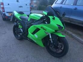 2009 - KAWASAKI ZX6R P7F, EXCELLENT CONDITION, £4,800 OR FLEXIBLE FINANCE