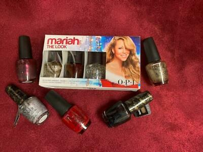 OPI Nail Polish Lot Set Of 8 Mariah Carey Collection NEW Full Size 0.5 Oz - $48.00