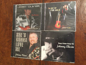 Johnny Oliver's CD Collection 4 cd's