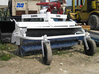 Sweeper, Melroe Hyd Drive,  attachment for Skid steer, nice,