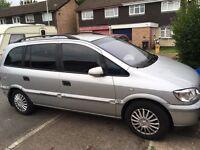 Vauxhall Zafira 1.6 petrol spares and repairs