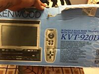Kenwood ivy-920dvd. Tv in car