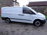 2012 (61reg) Mercedes-Benz Vito 113CDI LWB Van, Excellent Condition