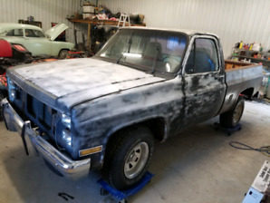 1985 GMC Short box c10