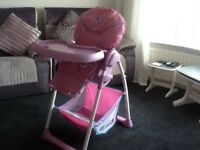 Hauck sit n relax highchair SOLD