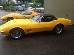 1968 corvette convertible collector matching