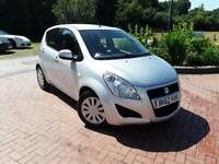 2012 62 REG Suzuki Splash 1.0 SZ3 5 door