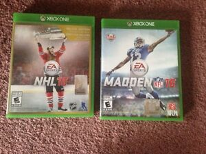 XBox One games $20 each (mint condition)