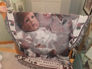 LEE MIDDLETON DOLL COMPANY 25TH ANNIVERSARY THROW